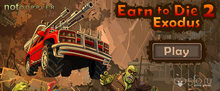 Игра Earn to Die 2 Exodus